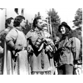 Adventures of Robin Hood Errol Flynn Basil Rathbone Photo