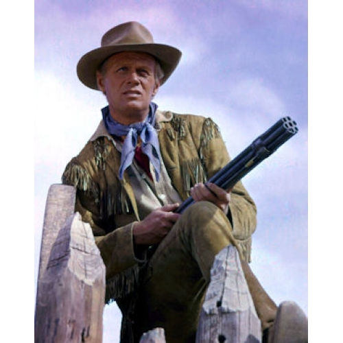 Richard Widmark in the alamo
