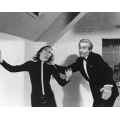 Avengers Diana Rigg Christopher Lee Photo