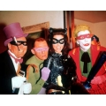 Batman Cesar Romero Burgess Meredith Lee Meriweather Photo