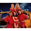 Baywatch David Hasselhoff Pamela Anderson Nicole Eggert Photo