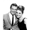 Breakfast at Tiffany's Audrey Hepburn George Peppard Photo