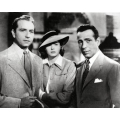 Casablanca Humphrey Bogart Ingrid Bergman Claude Raines Photo