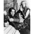 Conan the Barbarian Arnold Schwarzenegger Sandahl Bergman Photo