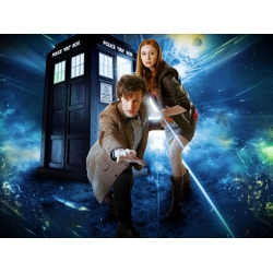 Dr Who Matt Smith Karen Gillan Photo
