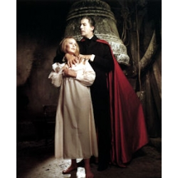 Dracula Has Risen From the Grave Christopher Lee Veronica Carlson Photo