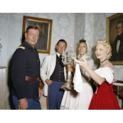 Horse Soldiers John Wayne Willliam Holden Constance Towers Photo