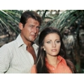 Live and Let Die Roger Moore Jane Seymour Photo