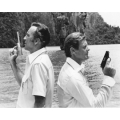 Man With the Golden Gun Roger Moore Christopher Lee Photo