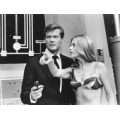 Man With the Golden Gun Roger Moore Britt Ekland Photo