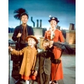 Mary Poppins Julie Andrews Dick Van Dyke Photo