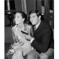 On Her Majestys's Secret Service George Lazenby Diana Rigg Photo