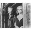 Once Upon a Time in the West Claudia Cardinale Jason Robards  Photo