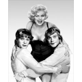 Some Like it Hot Marilyn Monroe Tony Curtis Jack Lemmon Photo